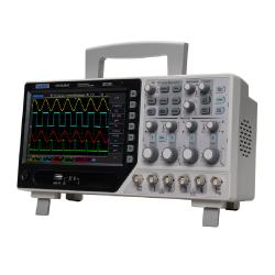 Hantek DSO4254C Osciloscopio 4 canales 250MHZ y Generador AWG