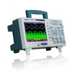 Hantek MSO5102D Osciloscopio 2 canales 100MHZ y Analizador Logico 16 Entradas