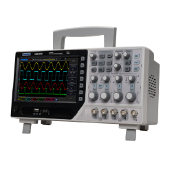 Hantek DSO4084B Osciloscopio 4 canales 80MHZ