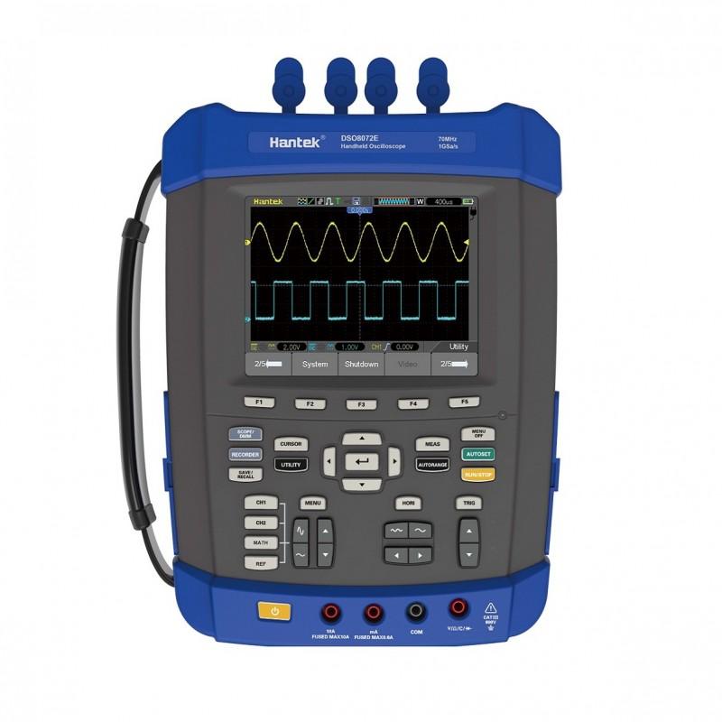 Hantek DSO8202E Osciloscopio Portátil 200MHZ 6 en 1 con Generador de señales Arbitrarias / Funciones