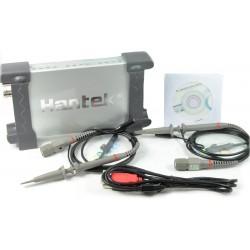 Hantek 6082BE Osciloscopio USB 2 Canales / 80MHZ