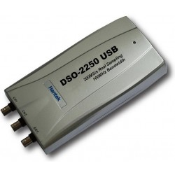 Hantek DSO2250 Osciloscopio USB 100 MHZ / 2 Canales