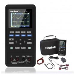 Hantek 2D72 Mini Osciloscopio portátil 2 Canales / 70MHZ con generador de señales y multimetro