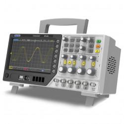 Hantek MPO6104D Osciloscopio de 4 Canales 100Mhz con 2 Generadores AWG y 16 Canales de Analizador Lógico
