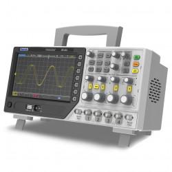 Hantek DPO6204C Osciloscopio de 4 Canales 200Mhz con 2 Generadores AWG