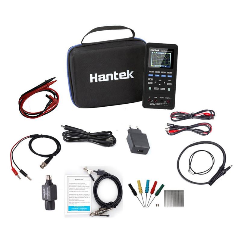 Hantek 2D82AUTO Mini Osciloscopio Portátil para Automoción KIT BASICO