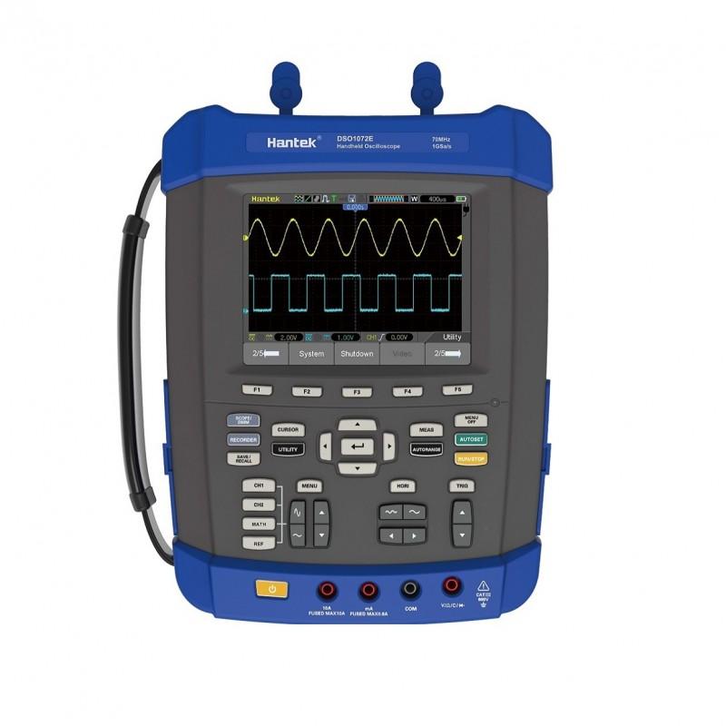 Hantek DSO1072E Osciloscopio Portátil 70MHZ 5 en 1