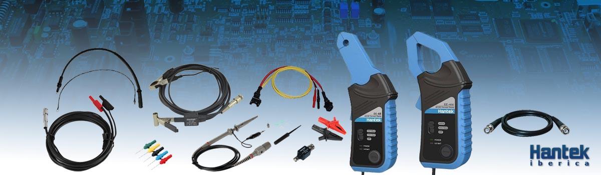 Accesorios para Osciloscopios Hantek