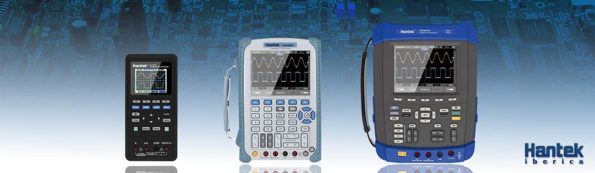 Osciloscopios Portatiles Hantek